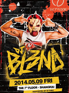 DJ BL3ND Party Night At The 7th Floor