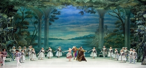 The Swan Lake By Russian State Ballet In Beijing