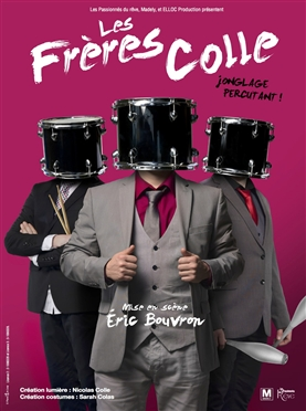 LES FRERES COLLE (The Colle Brothers) PERCUSSIVE JUGGLING