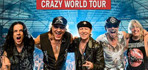 "Scorpions ""Crazy World Tour"" - Beijing"